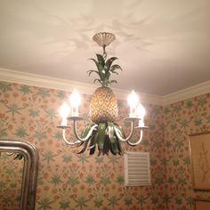 Pineaple chandelier
