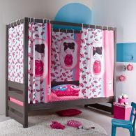 1000 images about lit baldaquin enfant on pinterest canopy beds petite fille and comment. Black Bedroom Furniture Sets. Home Design Ideas