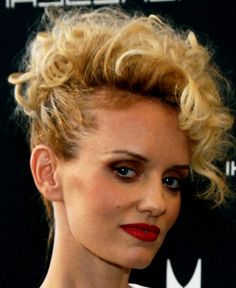 Short Curly Hairstyles 2013: Short Curly Faux Hawk Hairstyle ~ hsloft.com Curly Hairstyles Inspiration