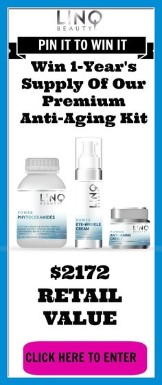 For ladies who want to preserve and restore the beauty of their skin with our premium products! Visit This Page To Enter :   http://linqbeauty.com/kit-giveaway