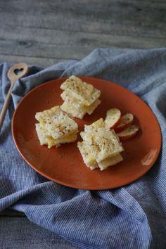 Ein tolles breifrei und baby-led weaning Rezept: Milchreisschnitten. Das perfekte Frühstück ohne Zucker
