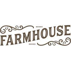 Silhouette Design Store - View Design #189754: farmhouse