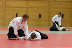 Aikido Kyuprüfungen im Budokan Wels (Oberösterreich) im Dezember 2015 – Ikkyofixierung