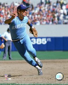 George Brett, Kansas City Royals...Yes, I used to love me some George Brett in my Kansas day...