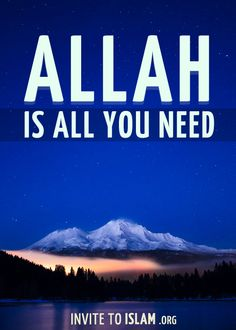 Allah is all you need :)