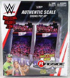 Sports Illustrated Kids, Wwe Toys, Wwe Action Figures, Patriots, Cool Toys, Pop Up, Crowd, Wrestling, Live