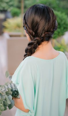 Charming bridesmaid braid.  Inspired by L'Oreal Advanced Hairstyle