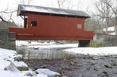 Ebenezer Covered Bridge, Mingo Creek County Park, Washington County, PA