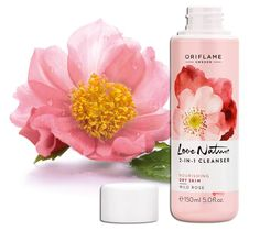 Love Nature 2 in 1 cleanser Wild Rose by Oriflame #skincare