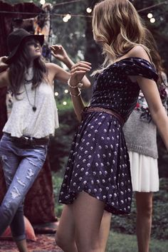 Getaway from it all with Friends! #AFLookbook #Folkloric #Bohemian