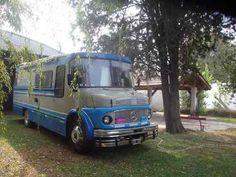 1973 Mercedez Benz 1114 Bus Motorhome RV Camper Van
