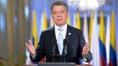 El presidente de Colombia Juan Manuel Santos declaró este martes que cese al fuego con las FARC ser...