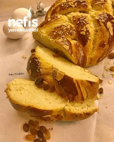 Easter Bun, Turkish Recipes, Ethnic Recipes, Good Smile, Pastry Recipes, Homemade Beauty Products, Cheesesteak, Biscotti, Meal Planning