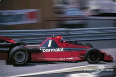 Niki Lauda, Brabham BT46 Alfa Romeo, Monaco, 1978.