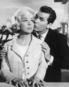 THE THRILL OF IT ALL - Doris Day & James Garner - Universal Pictures - Publicity Still.