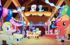 Ponyville party - My Little Pony