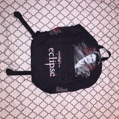 TWILIGHT BACKPACK Twilight Memorabilia Edward Cullen Backpack. Never used. Bags Backpacks