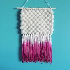 Melissa Washin weaving