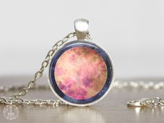Mercury Pendant Necklace   Mercury Necklace Mercury Jewelry Watercolor Planet Jewelry Space Jewelry Galaxy Necklace Astronomy Space Grunge by AgeOfAkuarius on Etsy