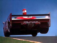 The Alfa Romeo TT33/TT/12 of Jochen Mass and Jody Scheckter at the 1000 Kms 1975