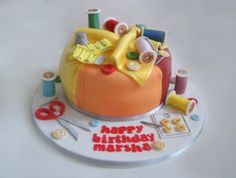 Sewing Cakes! - Rosie's Cakes