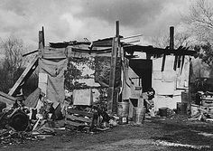 Shanty Towns: during the Great Depression, millions lost their homes and resorted to living in poverty