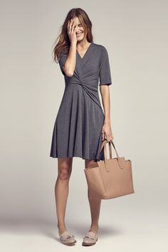 Jenny 2.0 Dress :: Charcoal