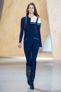 The FW16 Lacoste Collection infused with high-tech ski theme. © Yannis Vlamos
