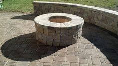 Firepit  Hanover: Chapel Wall (Tan Blend)