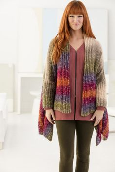 Part shawl, part cardigan the Rio Rancho Cardigan is THE project to make this spring! Join us for our Knit-Along and get help online along the way!