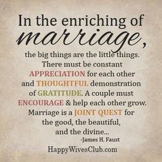 Marriage Encouragement