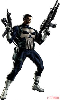 Punisher #Marvel: Avengers Alliance