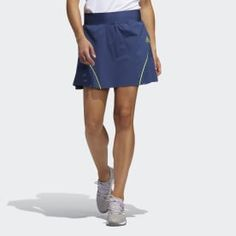 Find sales on Adidas Perforated Color Pop Skort and other deeply discounted products at Shop Scenes. Golf Skirts, Mini Skirts, Tennis Skort, Blue Adidas, Color Pop, Colour, Latest Fashion Trends, Plus Size Outfits, Plus Size Fashion