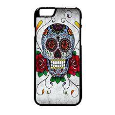 FR23-Sugar Skull Fit For Iphone 6 Plus Hardplastic Back Protector Framed Black FR23 http://www.amazon.com/dp/B017X1V96M/ref=cm_sw_r_pi_dp_X0yrwb001FP1V