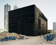 """""""I don't know anything about architecture, but I know Brutalism when I see it"""" - Roger Ebert Water cooling plant, Dubai, 2009 by Bas Princen"""