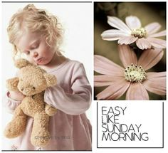 Hello Sunday, Mood And Tone, Beautiful Collage, Collages, Scrap, Teddy Bear, Creative, Sweet, Pink