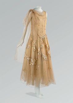 Vionnet evening dress, April 1931, from Cora Ginsburg LLC
