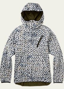 Burton Women's Cabin Pullover Jacket - Reversible
