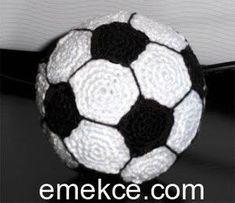 Amigurumi Futbol Topu Yapılışı | Emekce.com