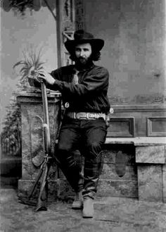 "Ed Schieffelin, ""Founder of Tombstone"", Arizona, 1880's"