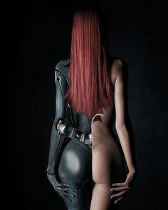 Neopolitan, cyberpunk, cyber, cyborg, future, futuristic, cyber girl, robot, android, borg, sexy