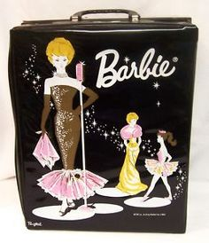 My Aunt Sadie had this at her house with the vintage Barbies in side that I used to play with in the late 70's
