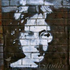 John Lennon Street Art  London  Fine Art by blackbirdphotoUK