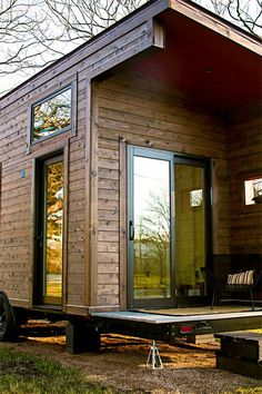 Covered Patio - Single Loft by TexZen Tiny Home Co.
