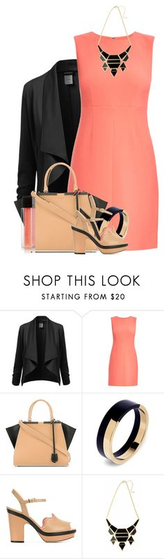 """""""Fendi - Bag & Shoes"""" by colierollers ❤ liked on Polyvore featuring Diane Von Furstenberg, Fendi and Marni"""