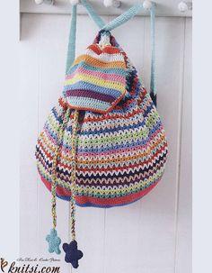 DIY: crochet backpack