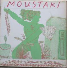 Fassianos design for vinyl LP Georges Moustaki