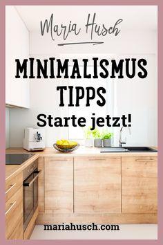 Minimalismus ist ein großer Trend. Träumst du auch davon, endlich weniger Dinge, weniger Eindrücke von außen, weniger Ballast in deinem Leben zu haben?