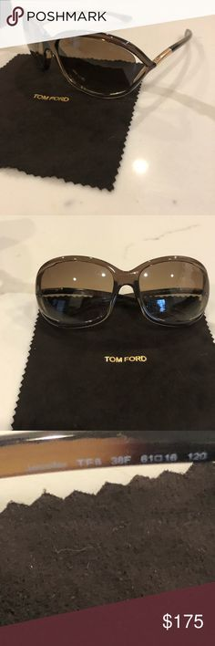 """3f72f50525e73 Tom Ford """"Jennifer"""" sunglasses Color- brown bronze Included-case and  cleaning"""