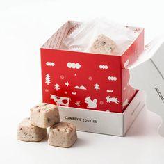 可愛らしいピクトグラムのイラストや色合いがおしゃれな「COWKEY'S COOKIESのミルキューブクッキー…